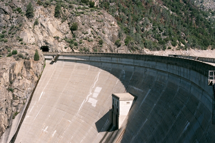 cramped up hetch hetchy dam