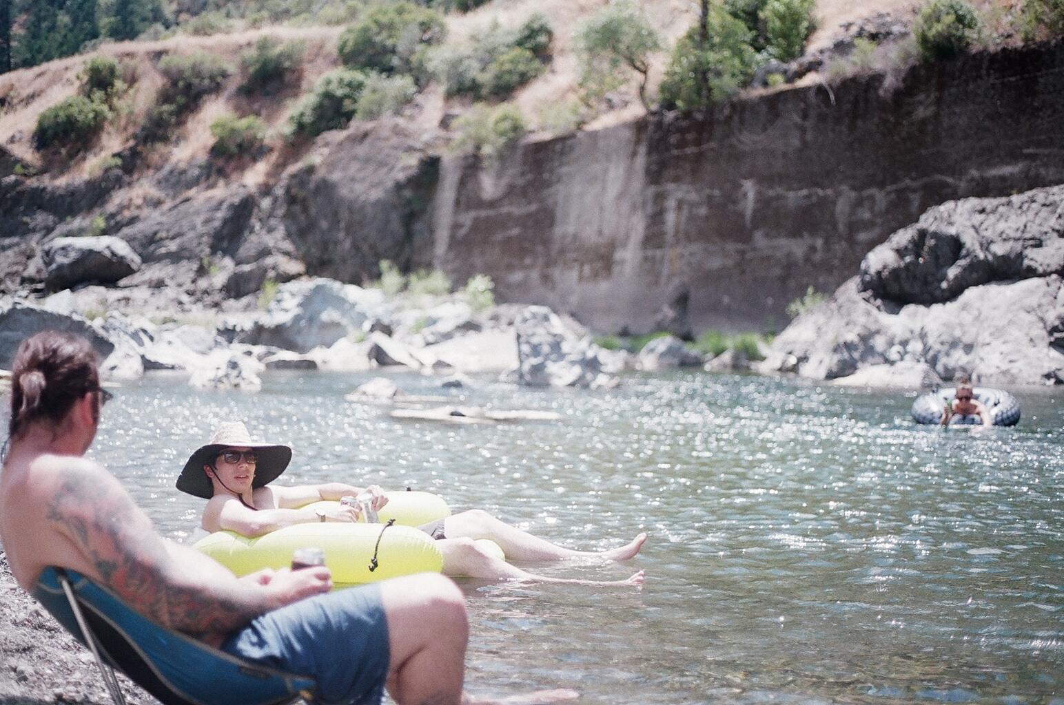 Eel River Camping Eel River Swimming Hol...