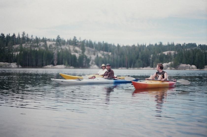 Cramped Up Utica Reservoir morning paddle