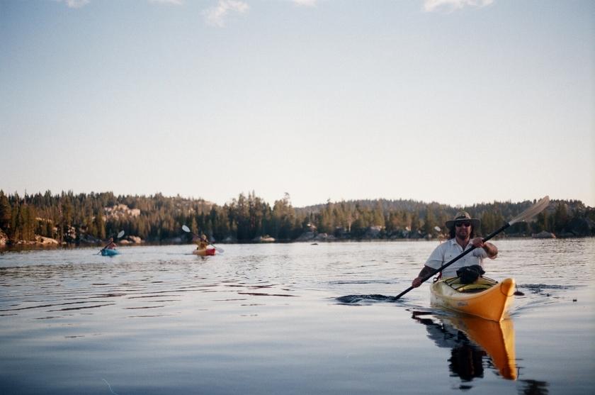 Cramped Up Utica Reservoir paddling