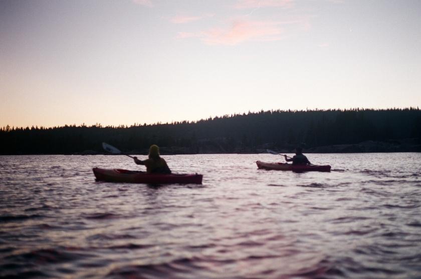 Cramped Up Utica Reservoir fast paddle