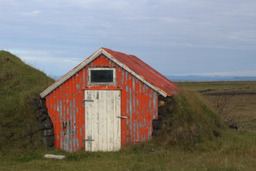 Cramped Up Iceland Farm turf building 2