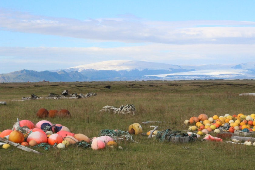 Cramped Up Iceland Farm Buoy