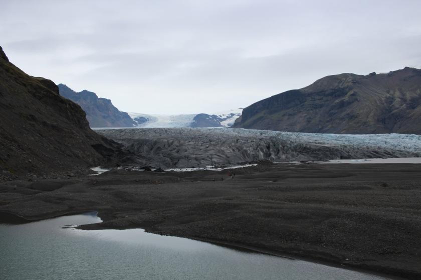 Cramped Up Iceland Skaftafell Glacier river