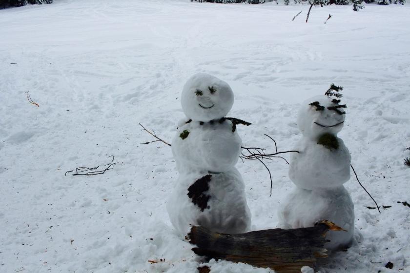 Cramped Up snowman
