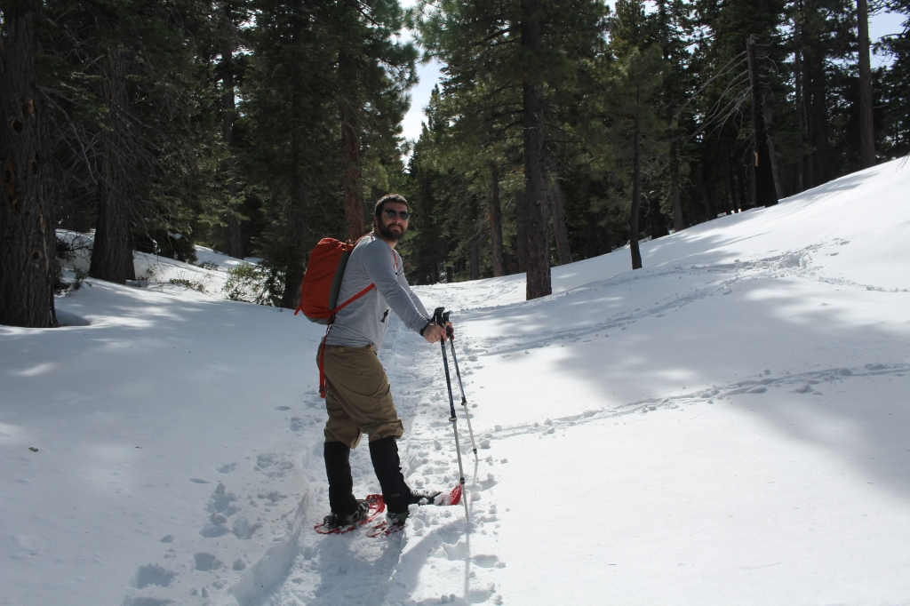 cramped up snow shoe tahoe