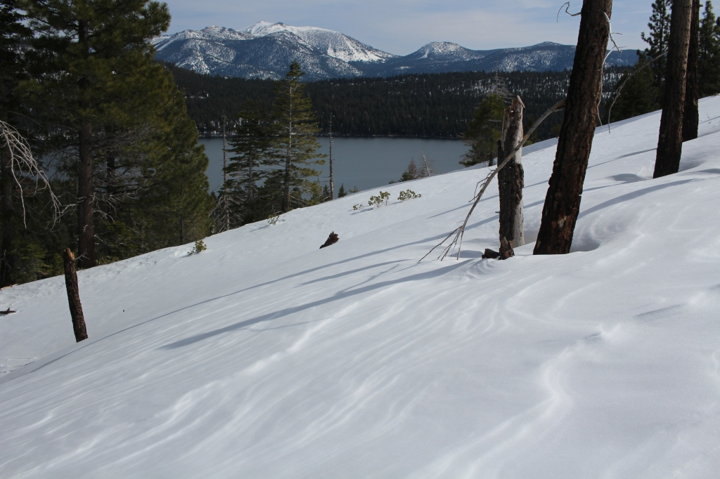 cramped up snow shoe tahoe 3
