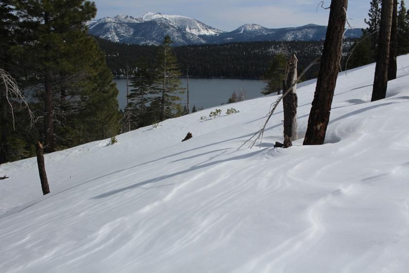 cramped up snow shoe tahoe 3