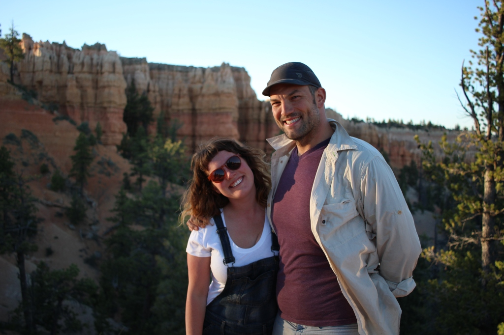 cramped up road trip southwest bryce canyon sunset